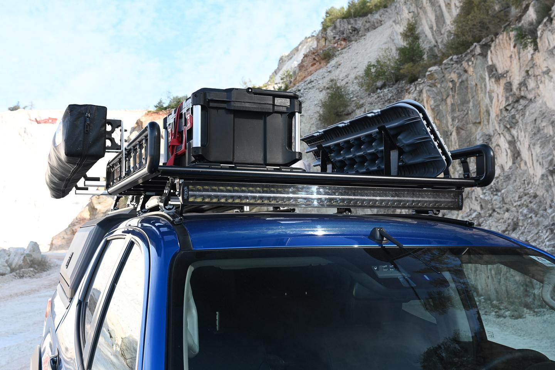 Mitsubishi puts on a loaded roof rack