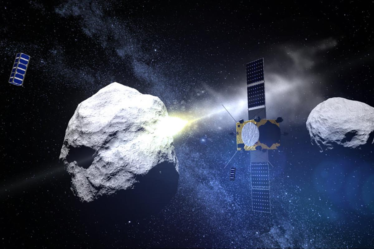 ESA has picked out five CubeSat concepts to accompany its AIM mission