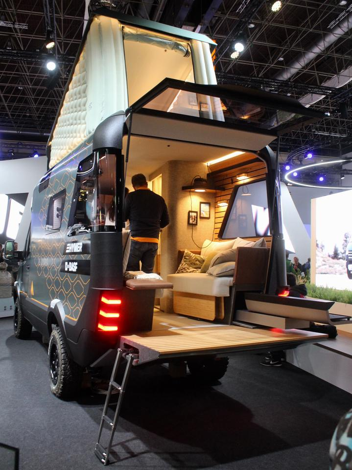 The VisionVenture was one of the biggest highlights of this year's Caravan Salon