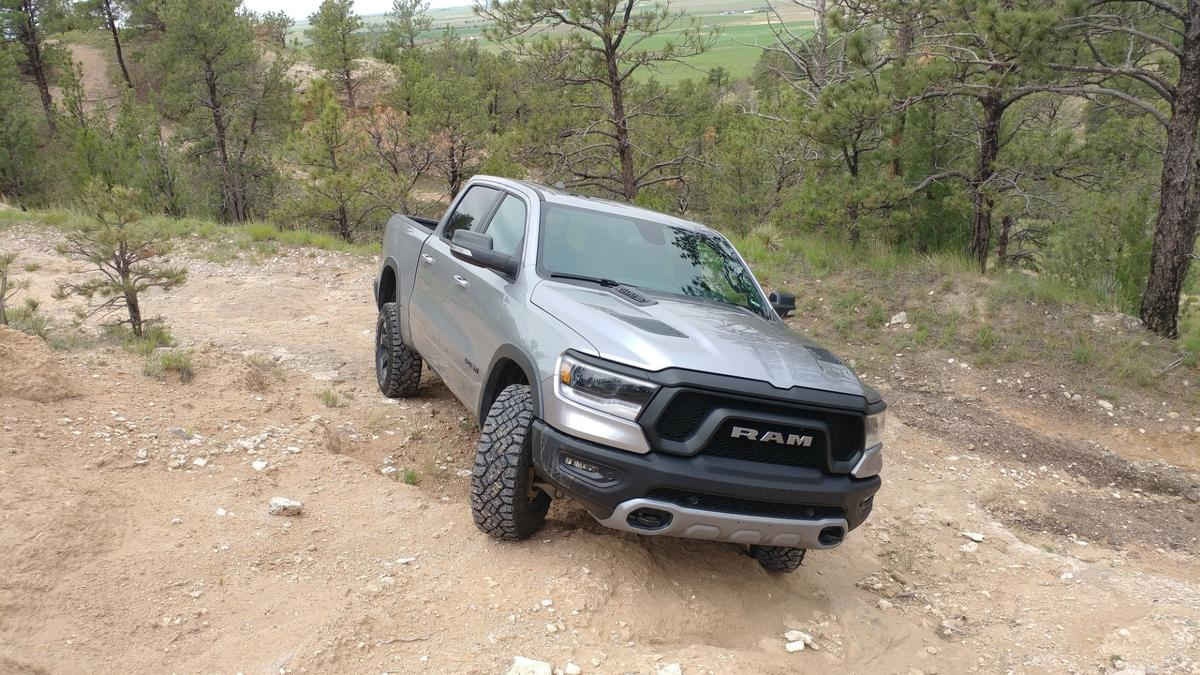 The new Ram has a drag coefficient similar to most sedans, it has a lighter weight, it has a new mild hybrid system, and it has a stronger framework to allow more capability