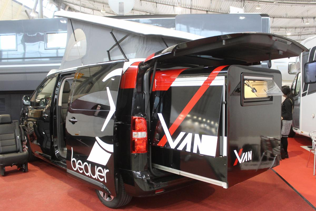 Beauer reveals the X-Van at CMT 2020