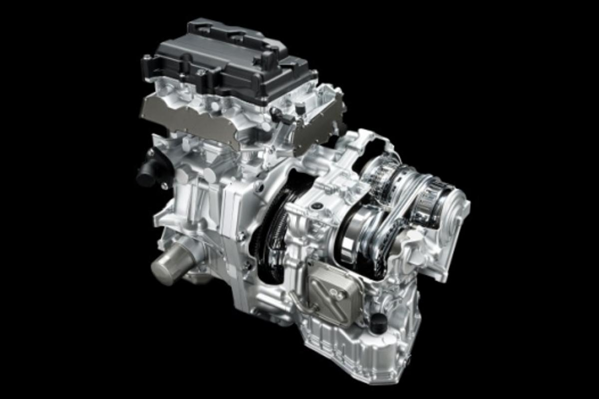The Nissan/Jatco CVT transmission which Nissan says will be incorporated into its compact car fleet in the near future