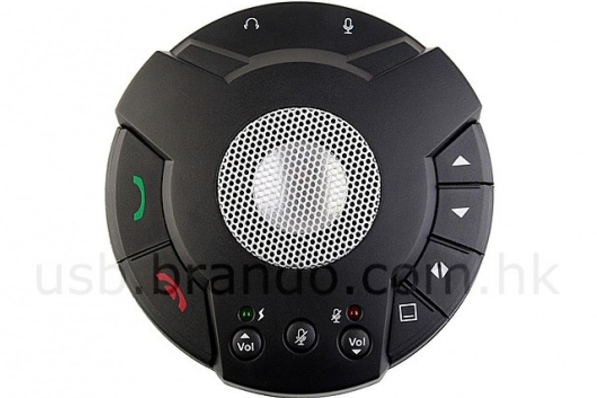USB VoIP Speakerphone: ideal for Skype users