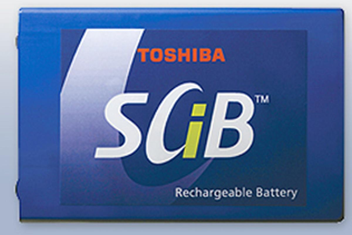 Toshiba is working with Mitsubishi Motors to fast track the development SCiB battery technology for EV applications