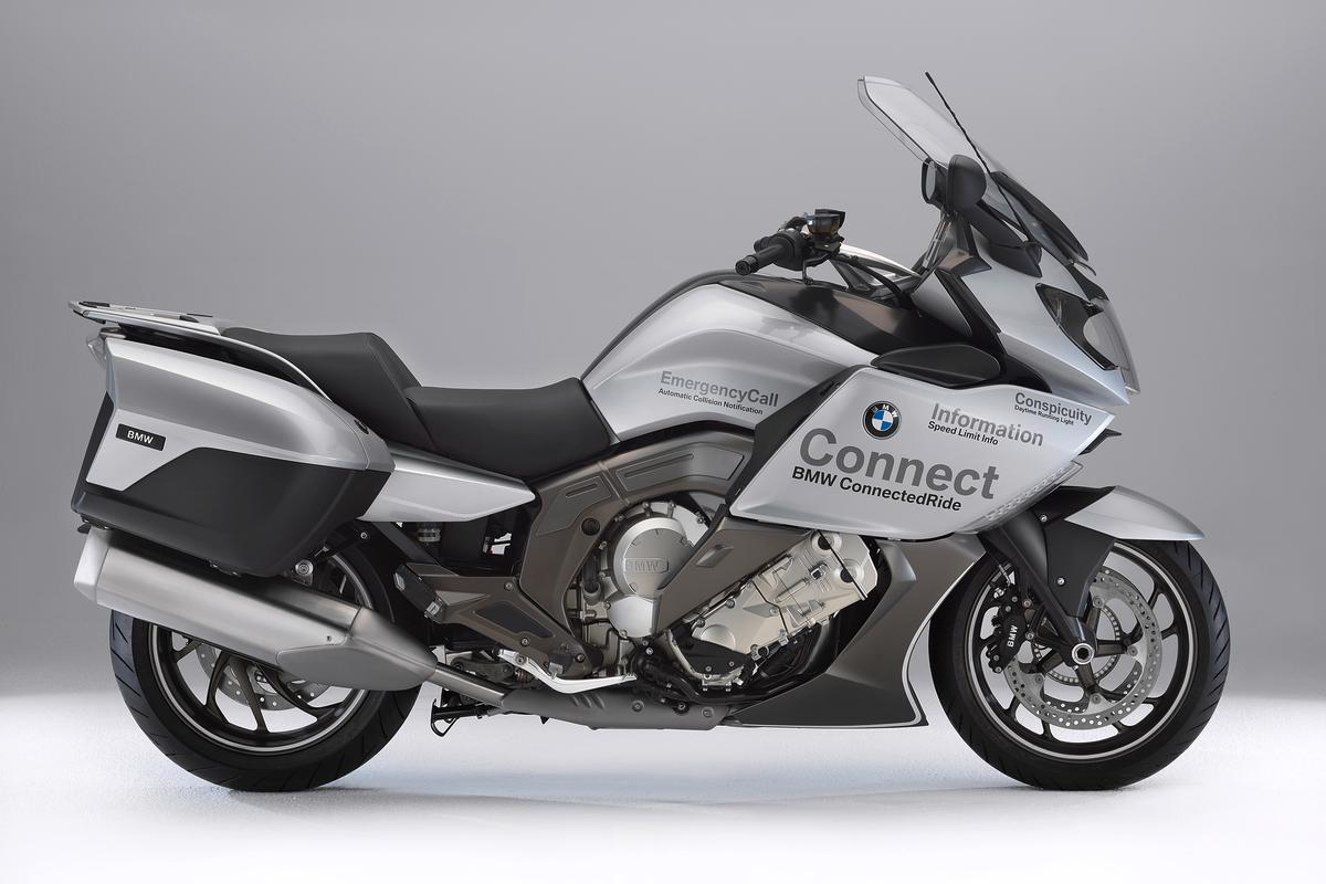 BMW's Advanced Safety Concept motorcycle