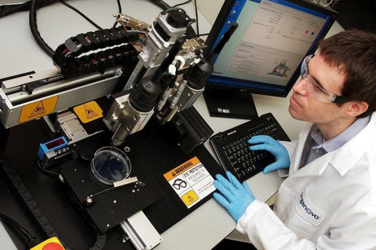 The 3D bio-printer that could be used to create human tissue and organs on demand