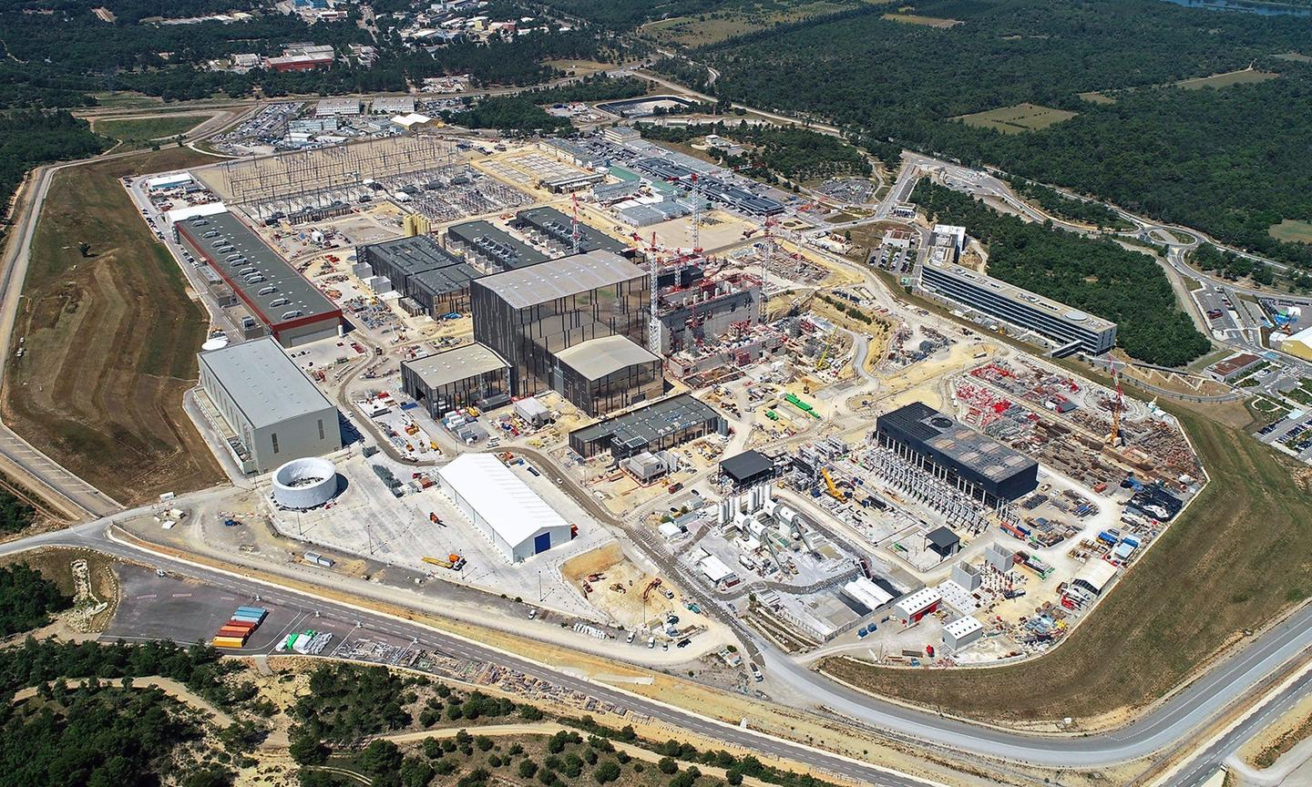The site of ITER in France