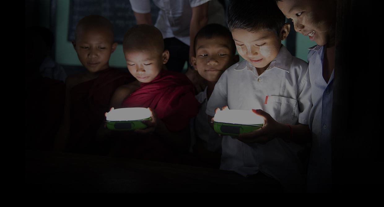 Panasonic has so far donated lights and lanterns to 80 organizations in 16 countries