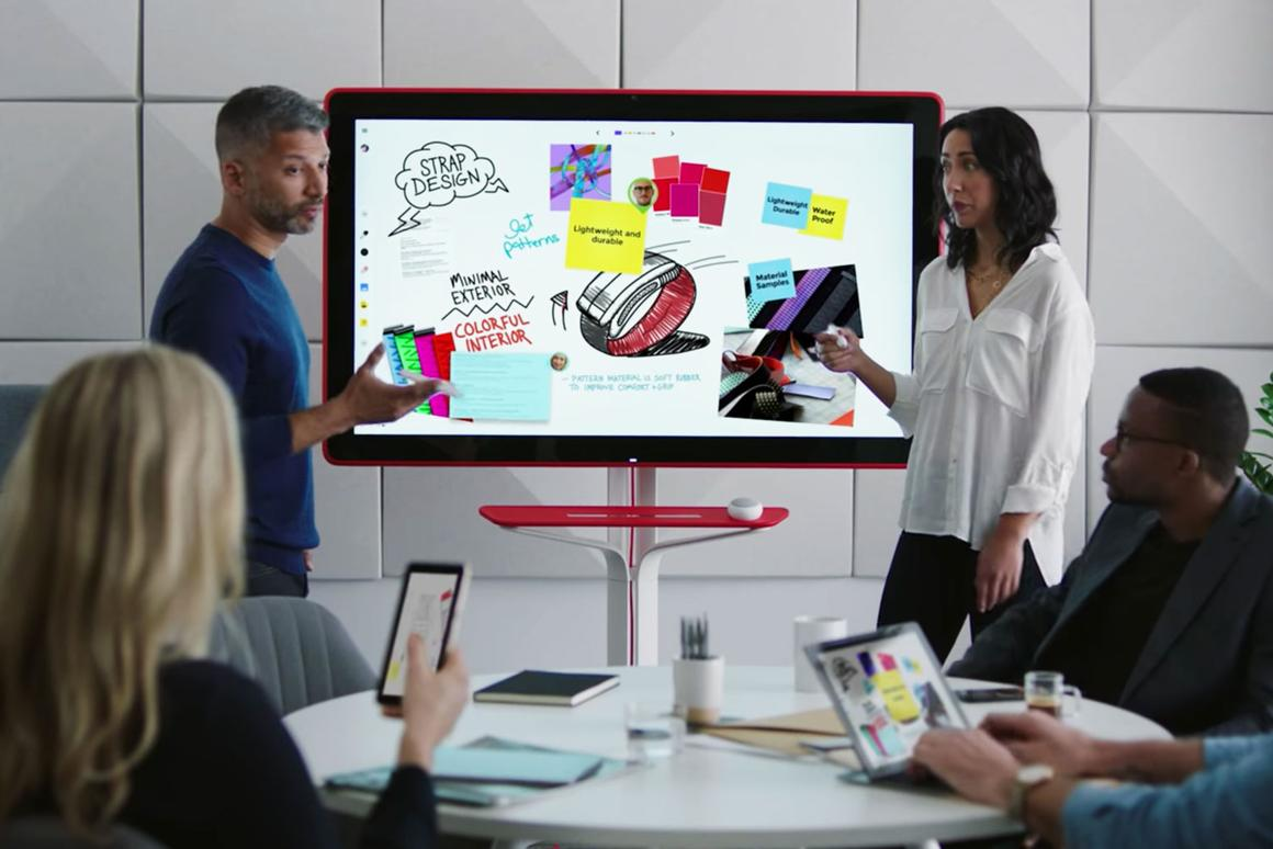 Google Jamboard is a digital dry-erase board dialed into the cloud