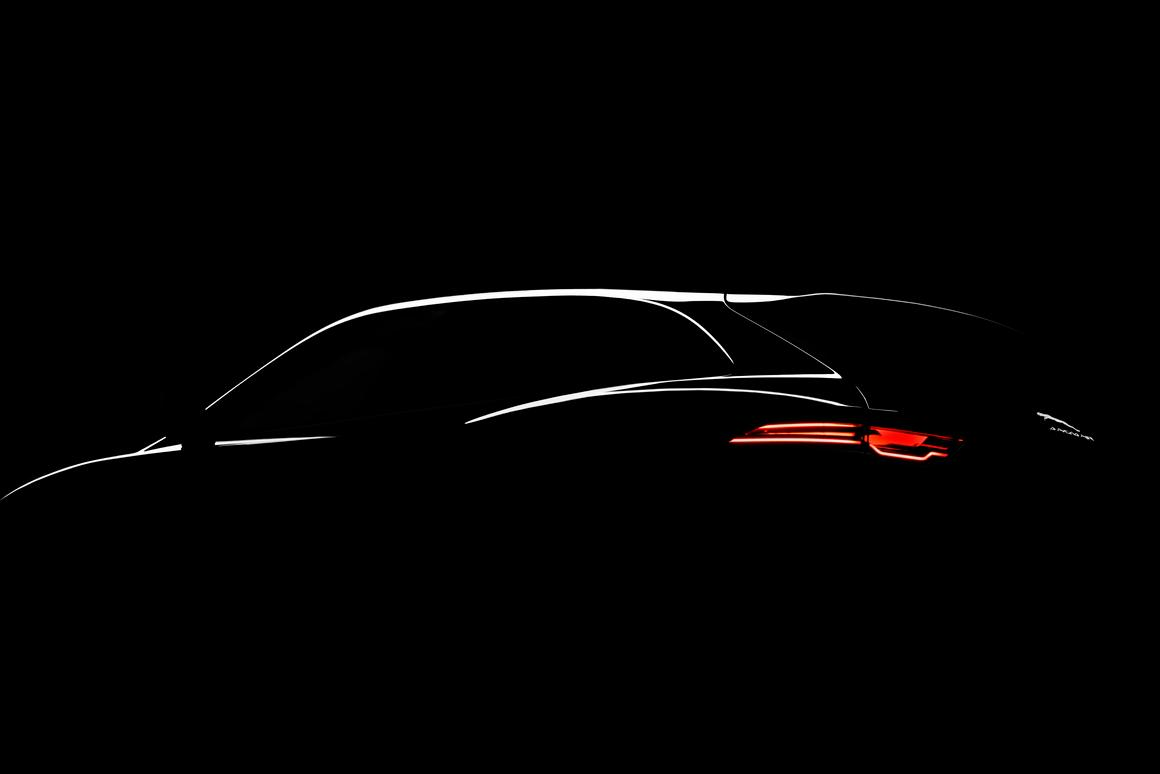Jaguar will turn the lights on the reveal its C-X17 concept at the Frankfurt Motor Show this month