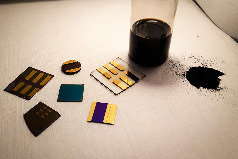 Scientists have created a thin-film nanomaterial version of coal that may challenge graphene and silicon