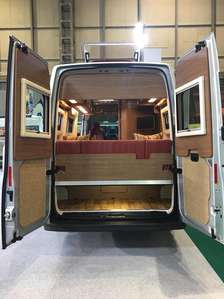 IH Motorhomes gives the VW Crafter camper van a different look