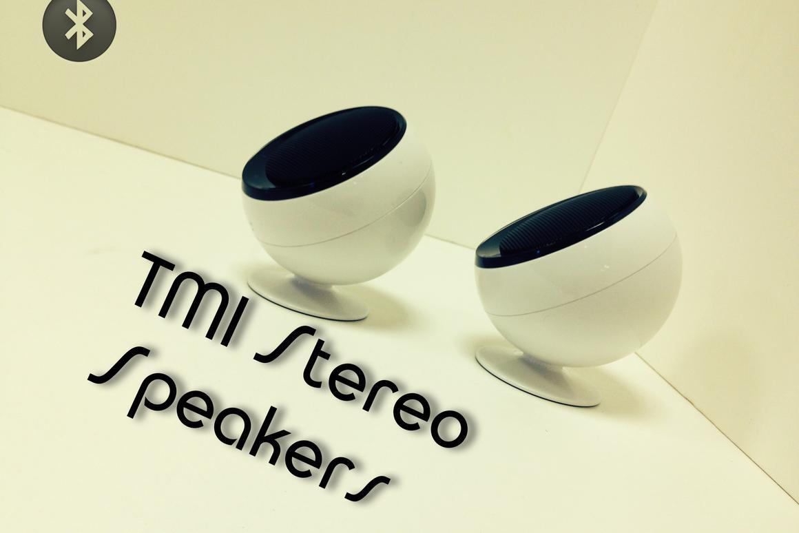 TMI's split Bluetooth speakers