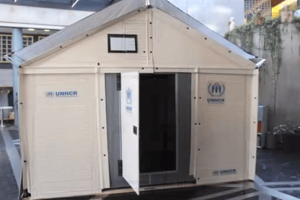 The Ikea refugee shelter designed to provide refugees with better living conditions