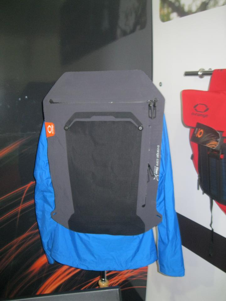 The Connector Vest functions with a number of O-range backpacks