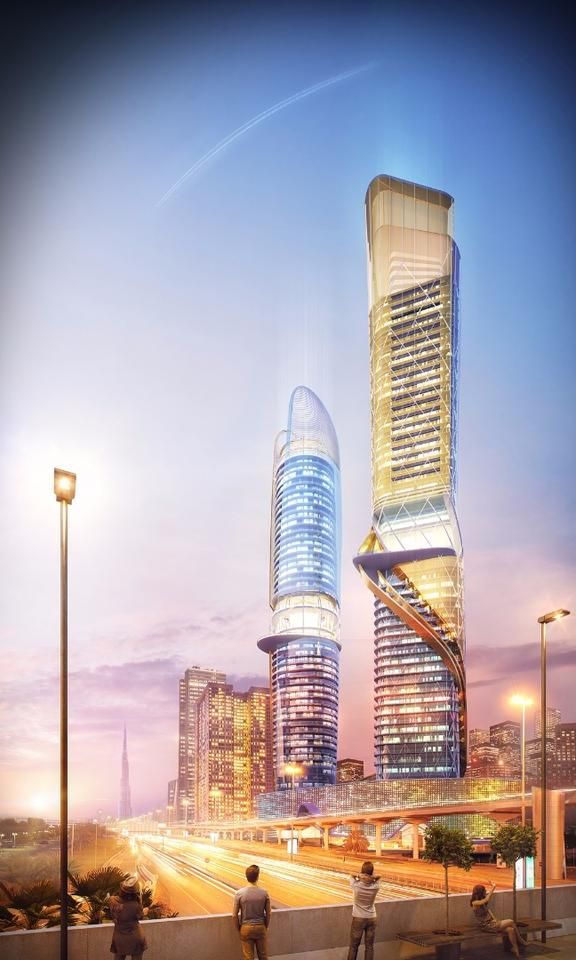 """ZAS describes Rosemont as """"a very important high-end 5-star"""" development and says it will be located in a prime position on Sheikh Zayed Road in the Al Thanyah First area of Dubai"""