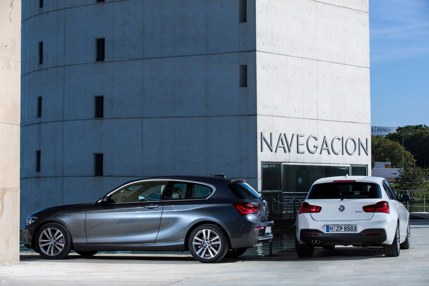 The latest 1-Series' styling has been thoroughly reworked for 2015