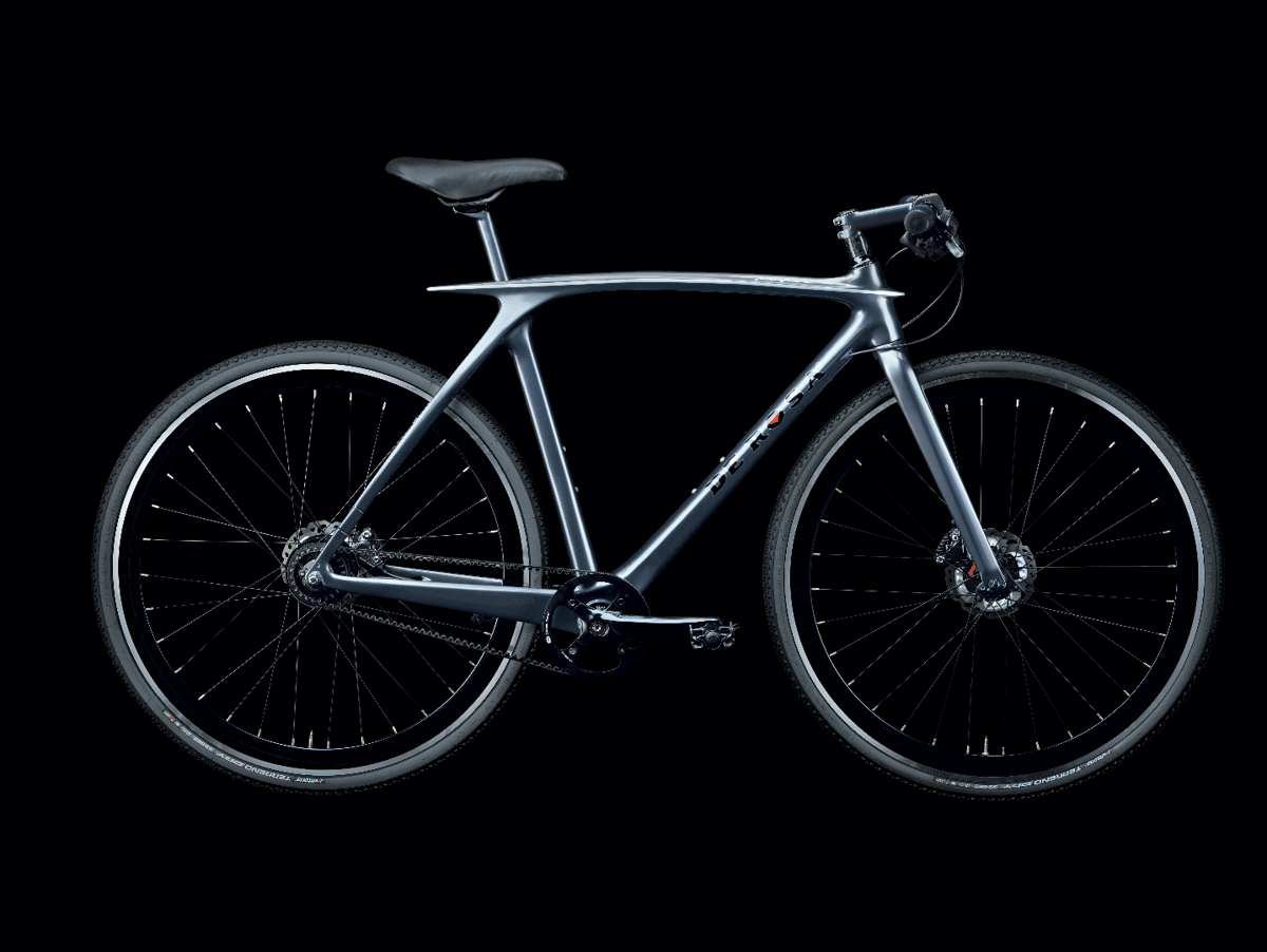 The De Rosa Metamorphosis, set up as an urbanbike