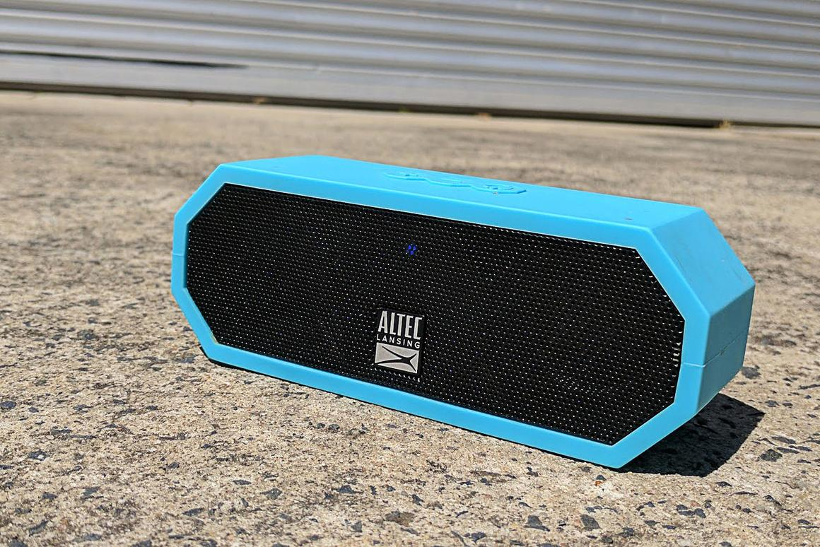 Altec Lansing Jacket H2O: a thoroughly roadworthy, floating, waterproof Bluetooth speaker that sounds great to us