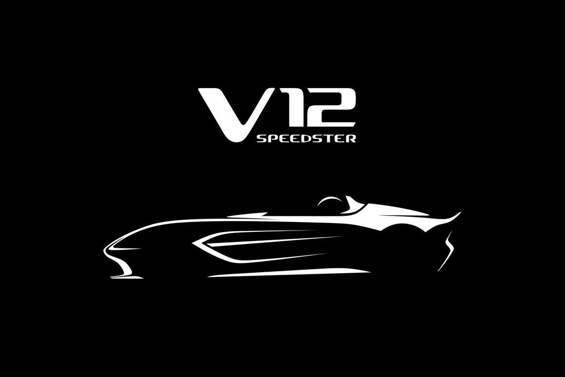 An open top V12 speedster, Bond? Very cunning