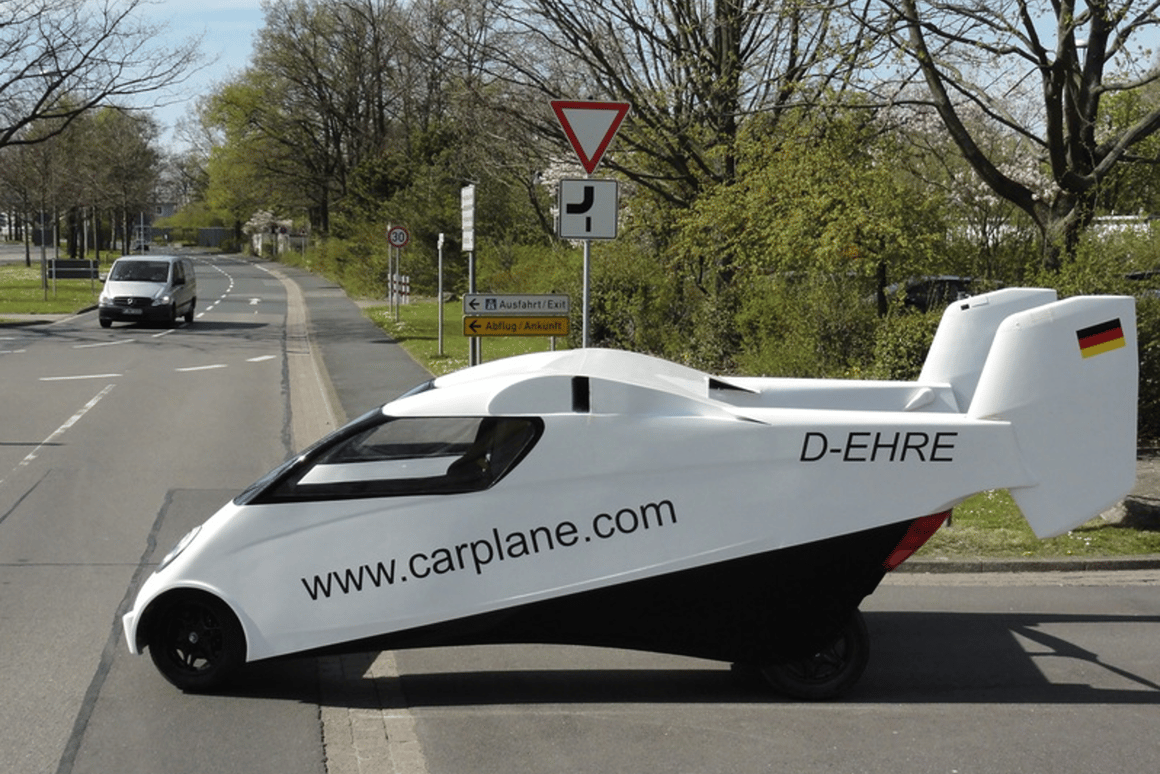 The Carplane flying car prototype hits the road in Germany