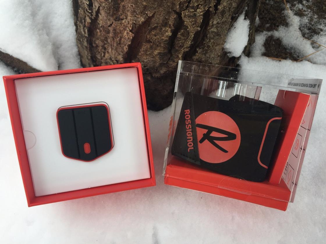 The Piq ski sensor unit and ankle cuff