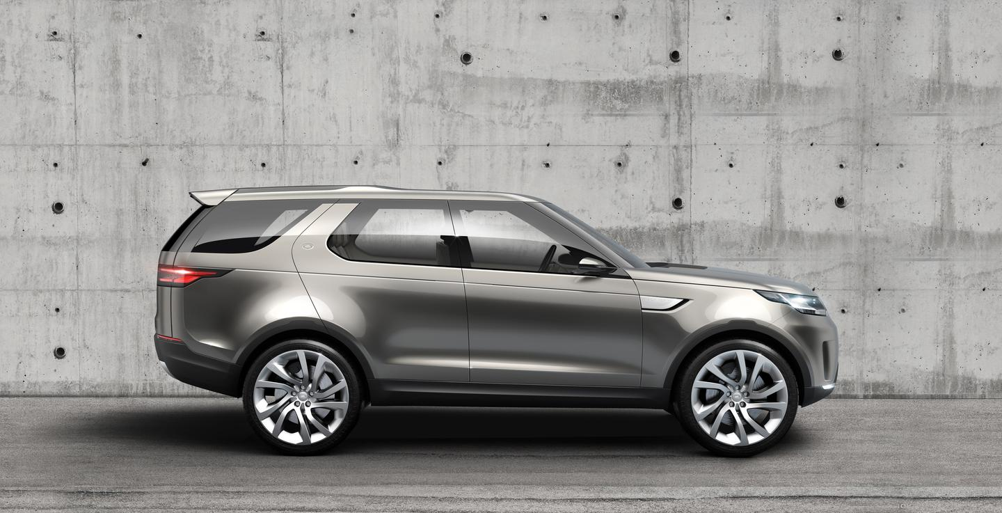 The Land Rover Discovery Vision concept is a showcase of new technology