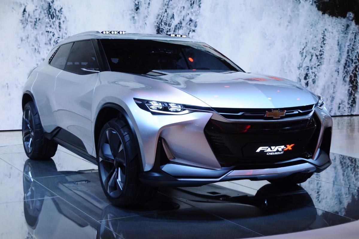 Chevy FNR-X at Auto Shanghai 2017