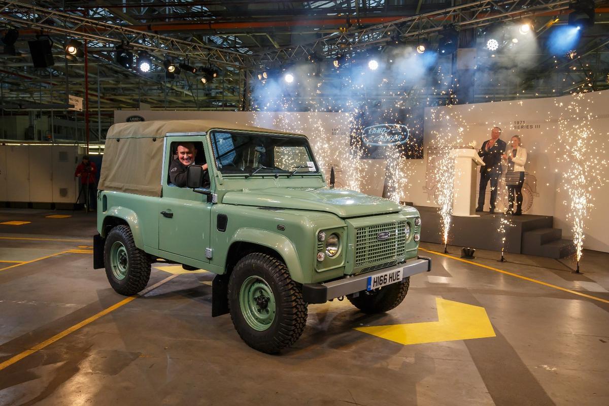 Celebrating the last Land Rover Defender