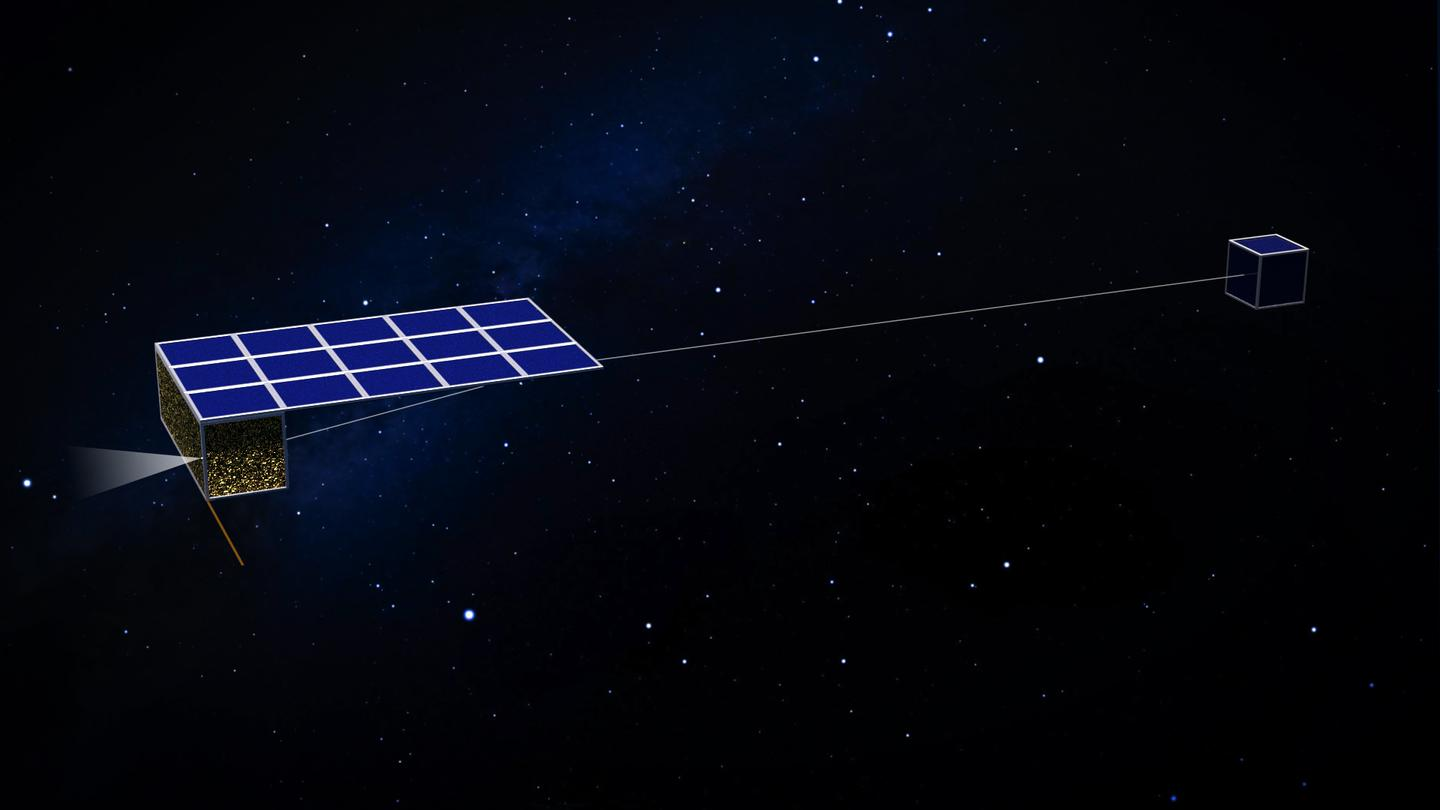 The Asteroid Touring Nanosat Fleet is a set of 50 small spacecraft that will, if the mission gets off the ground, visit some 300 asteroids between them