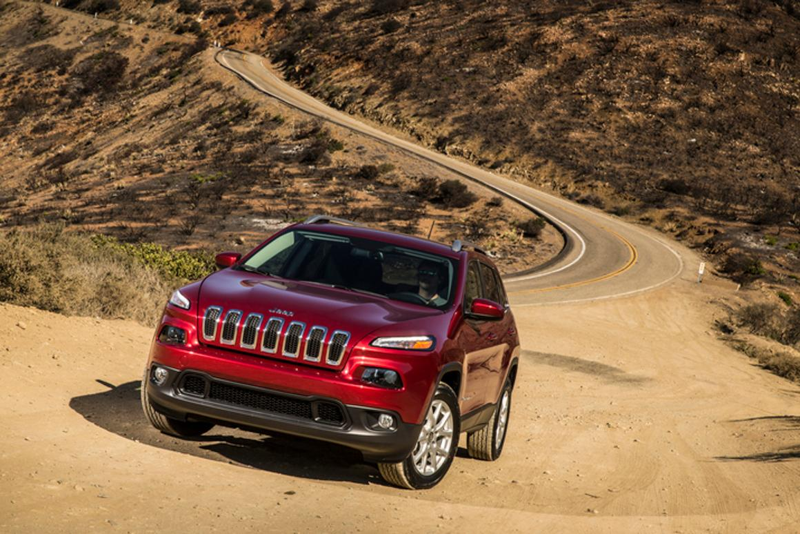 The 2014 Jeep Cherokee will feature the EcoTrac Disconnecting All Wheel Drive system (Photo: Chrysler)