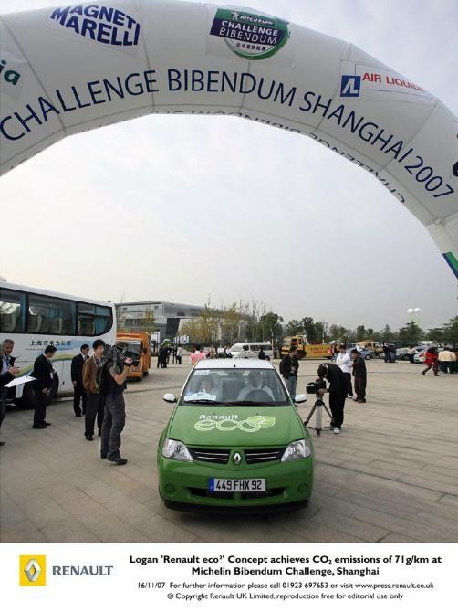 Renault's eco² at the Challenge Bibendium