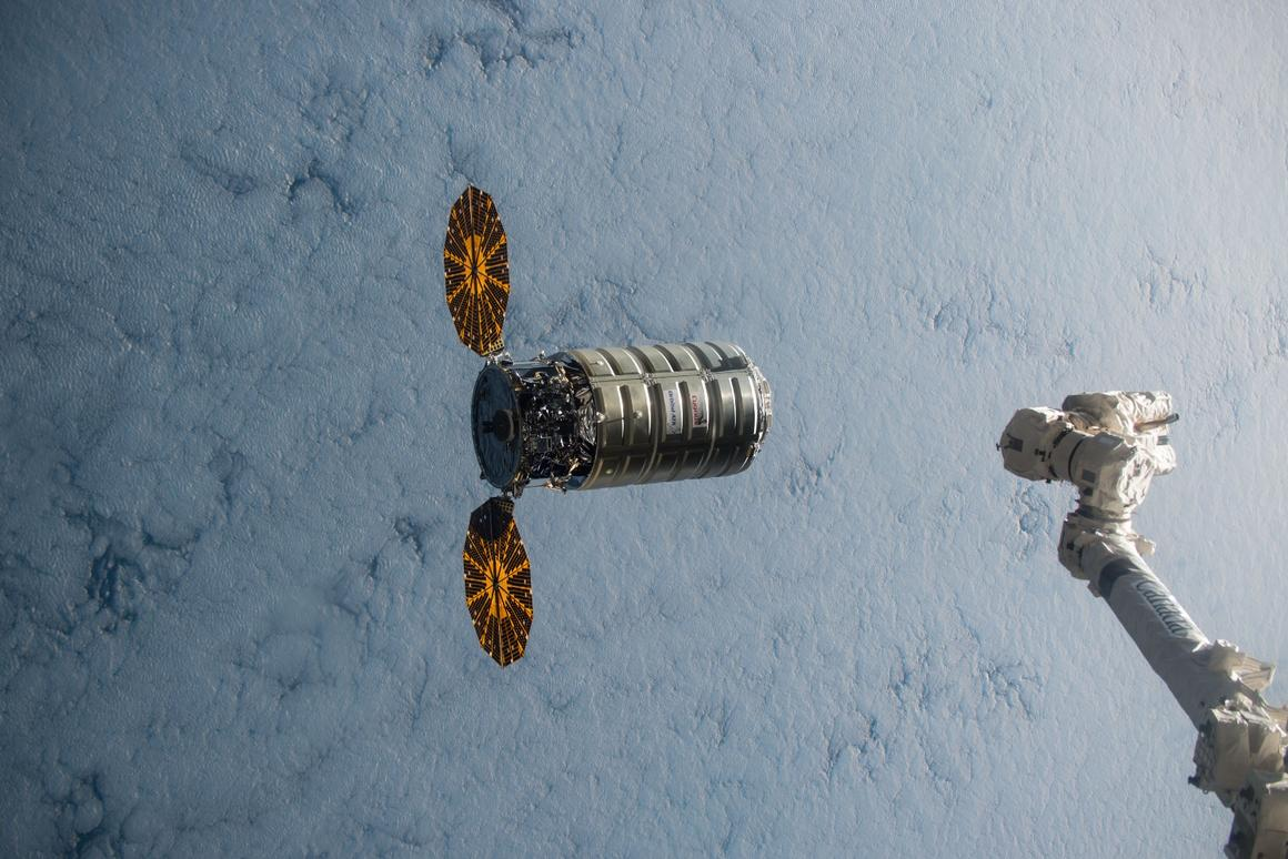 NASA will deliberately light a fire aboard a Cygnus cargo ship as part of a safety experiment
