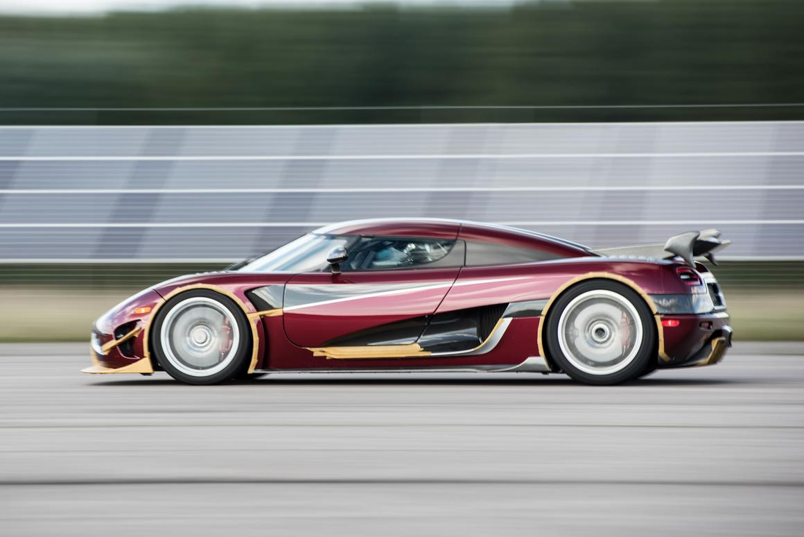 The Agera RS set a new 0-400-0 km/h record