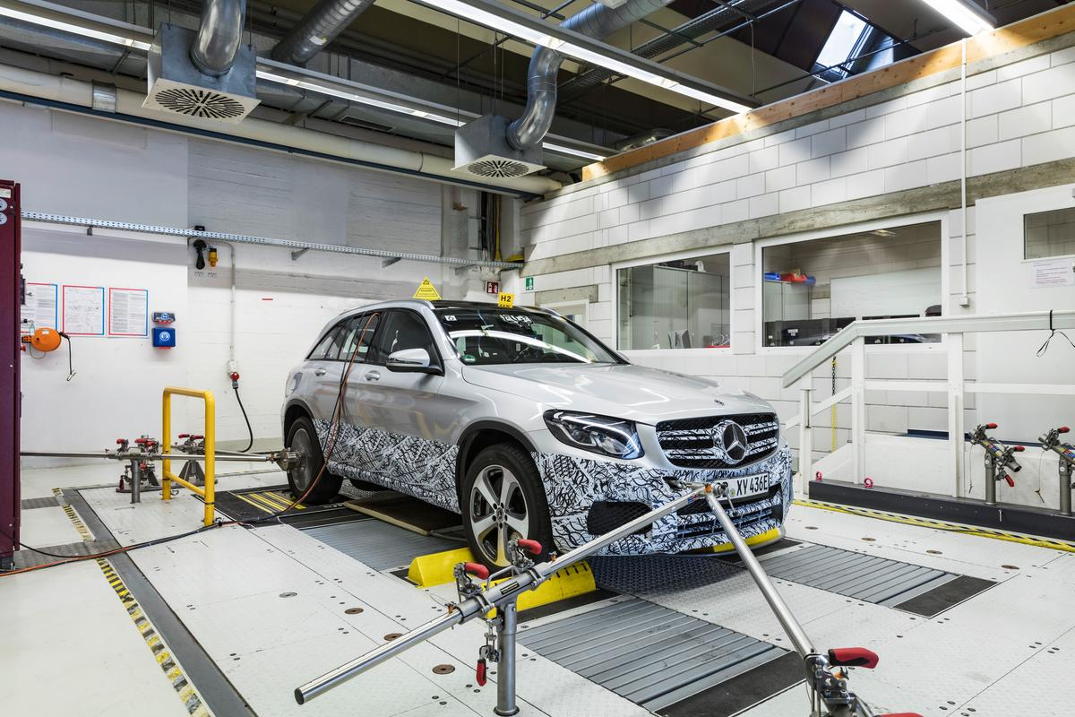The Mercedes GLCF-Cell will be launched at the Frankfurt MotorShow