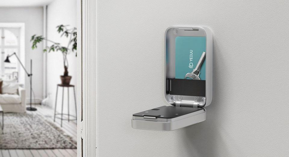 The K1 Smart Lock Box is currently on Indiegogo