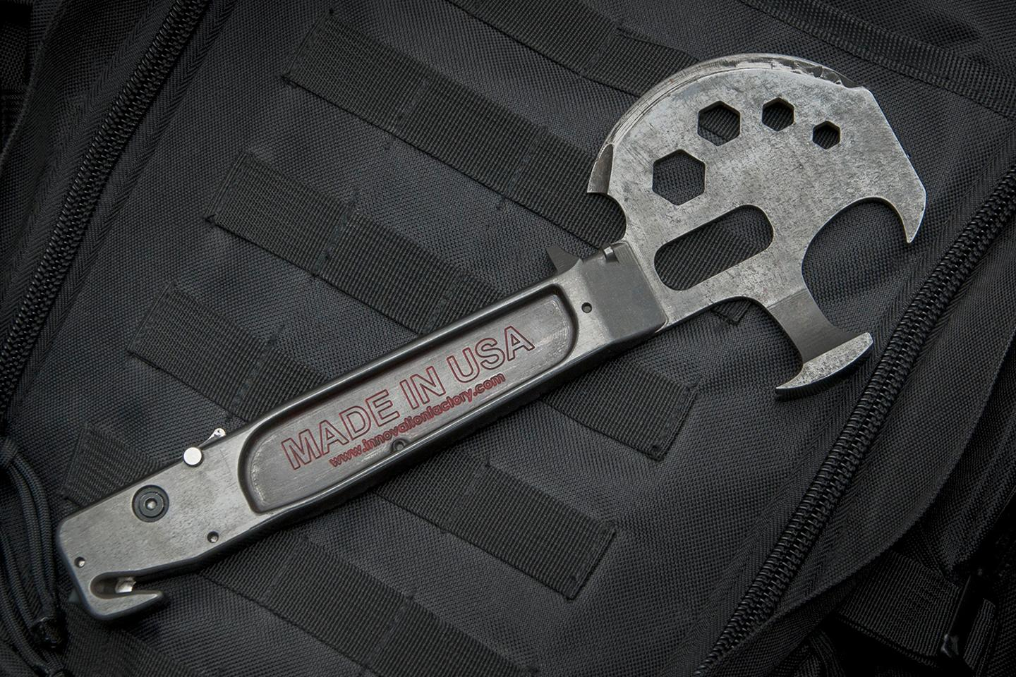 The Lil Trucker multitool was designed by firefighters to be useful in an emergency