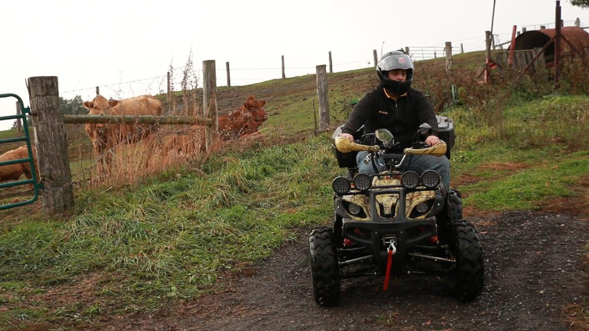 Daymak says its Beast ATV Ultimate is the longest-range electric all-wheel drive ATV on the market