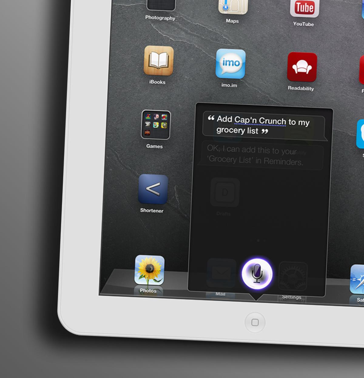 An easily-unnoticed change in iOS 6 lets you create shared grocery lists with Siri