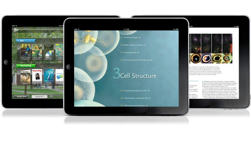 Kno has announced a beta release for its new Textbooks eTextbook and PDF reader app for the iPad
