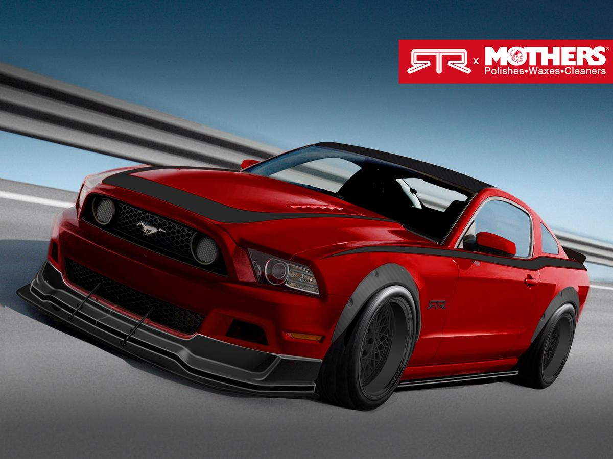 2013 Mustang GT, 5.0L V8, Six-Speed Manual Transmission - built by Mothers, Autosport Dynamics, RTR