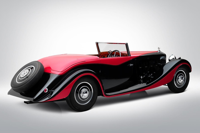 1935 Delage D8S Cabriolet Special