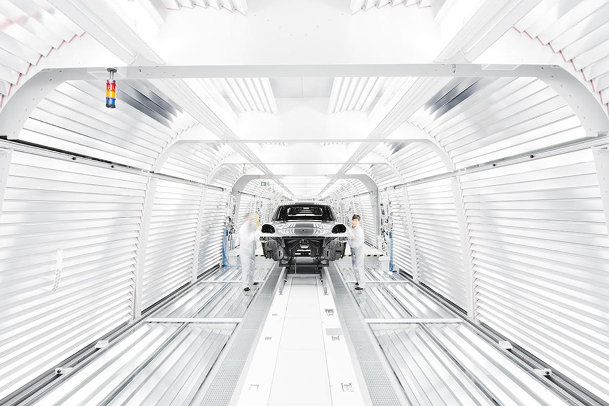 Porsche will produce the new battery-electric Macan at its Leipzig factory in Germany