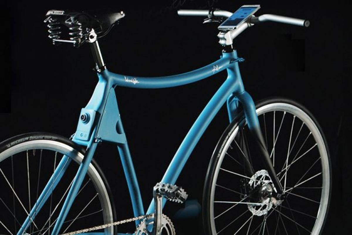 The Samsung Smart Bike uses a smartphone – and an Arduino module – as its brains