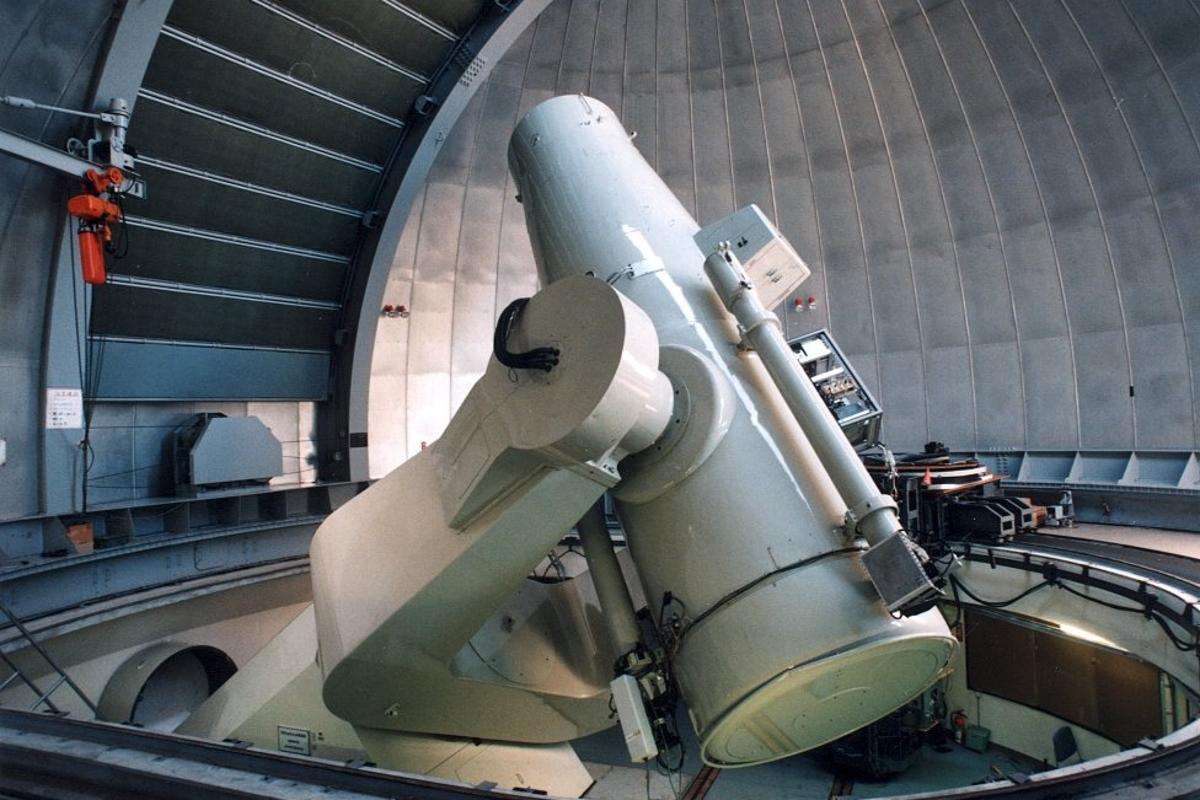 The Kiso Schmidt telescope that was used to collect observations above the MU radar facility