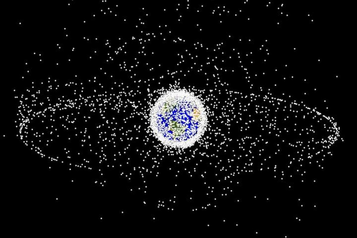 Thousands of pieces of space debris pose a very real threat to satellites and spacecraft in low-Earth orbit
