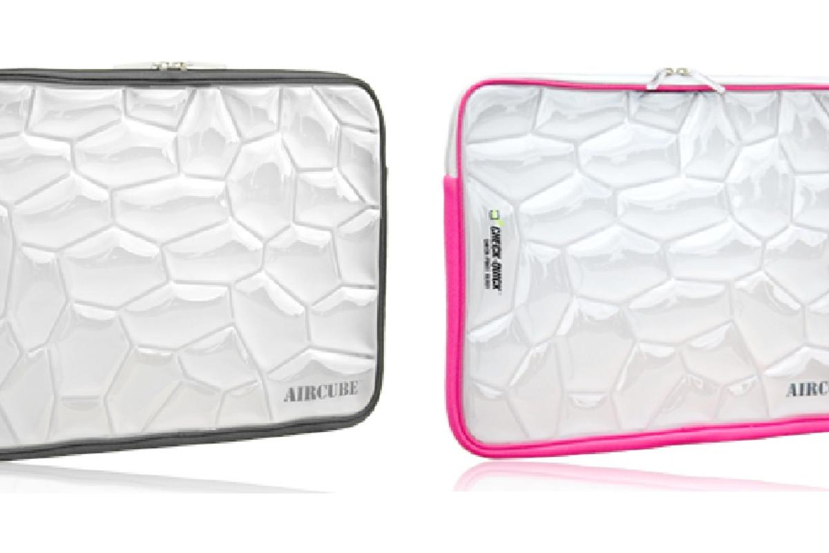 The Sumdex Aircube laptop sleeve offers additional protection for laptops on the go