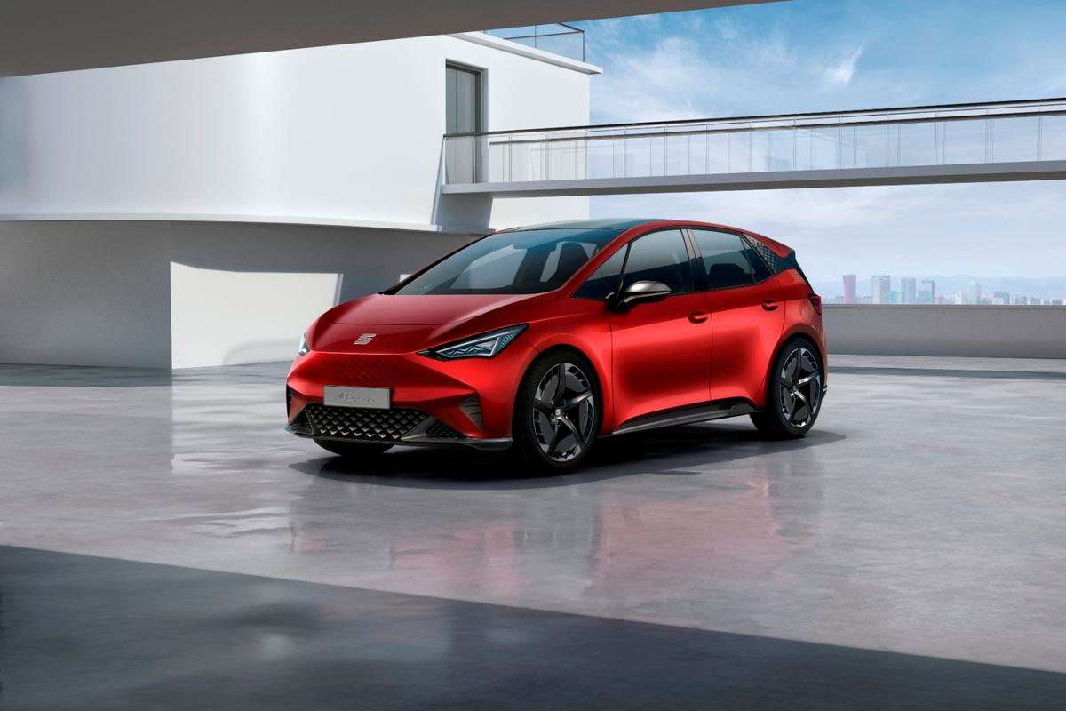 The Seat el-Born is named after a Barcelona neighborhood, and will debut at the 2019 Geneva Motor Show