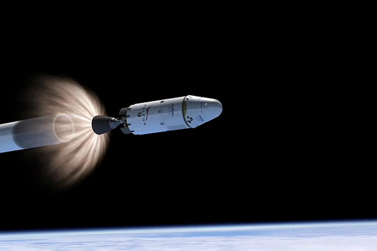 The goal is to make all parts of the Dragon reusable and capable of returning to Earth under their own power (Image: SpaceX)