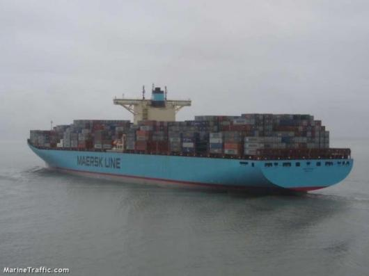 Worlds largest container ship